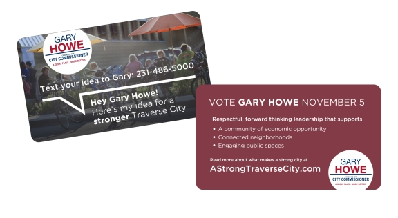 HEY GARY HOWE card